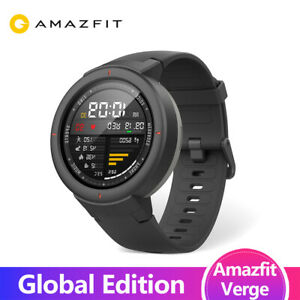 Huami Amazfit Verge Sport Smartwatch GPS GLONASS Music on board Call Answer