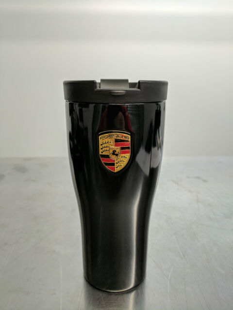 porsche coffee travel mug