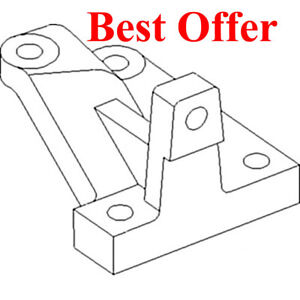186641C1 New LH Steering Lever Made to fit Case-IH Combine