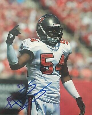 Geno Hayes Tampa Bay Buccaneers Signed 8x10 Photo ...