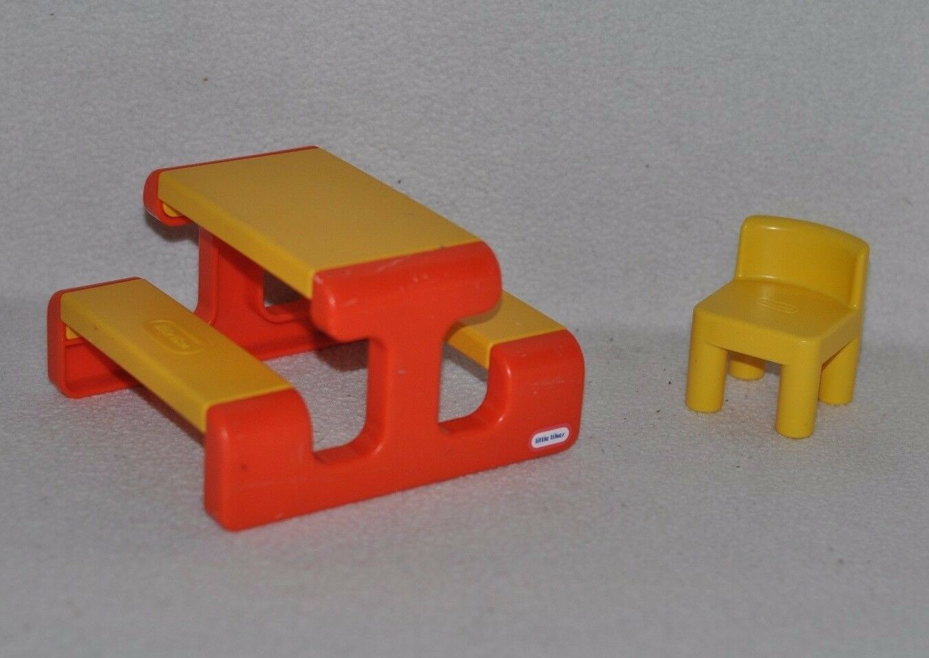 little tikes doll high chair baby chairs at target vintage dollhouse furniture lot play ground