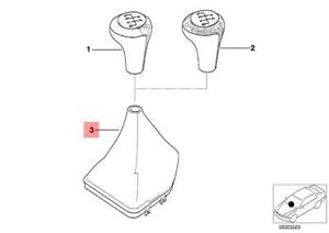 Genuine BMW E39 Sedan Shift Lever Trunk Manual
