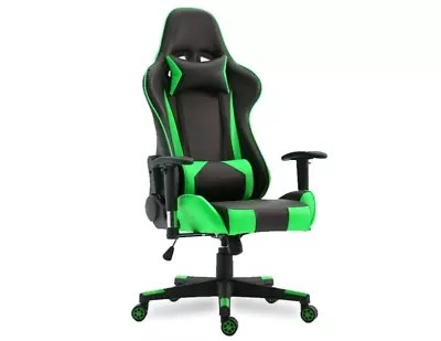 gaming office chairs australia chair covers new zealand brand black and green