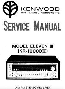 Kenwood ELEVEN III, MKIII, kr-10000iii Schematic Diagram