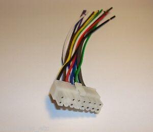 Nesa Indash Dvd 16 Pin Wire Harness Nsd 708 741n 741b 360