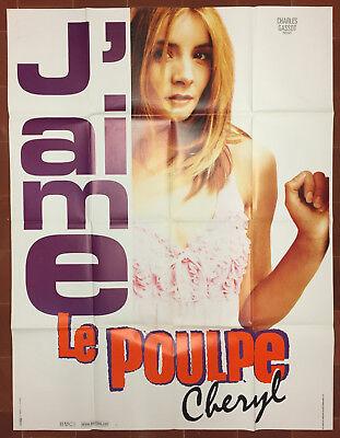 Le Poulpe (film) : poulpe, (film), Affiche, POULPE, Nicloux, JEAN-PIERRE, DARROUSSIN, Clotilde, Courau, 120x160cm