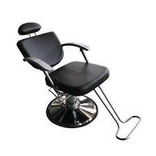 beauty salon chair fisher price easy fold high cover black fashion all purpose hydraulic reclining barber chairs shampoo spa 3w