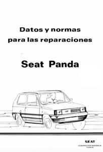 Manual de Taller y Reparación SEAT PANDA. Workshop Manual