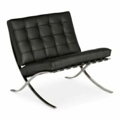 Mies Van Der Rohe Barcelona Chair Double Lounge Outdoor Replica Ludwig Black Ebay Image Is Loading