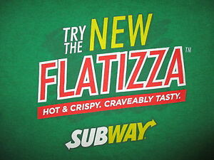 subway flatizza t shirt