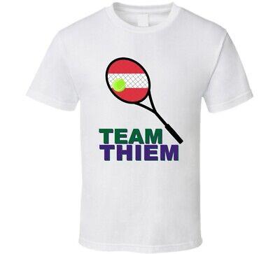 Team Dominic Thiem AUT Mens Tennis Fan T Shirt | eBay