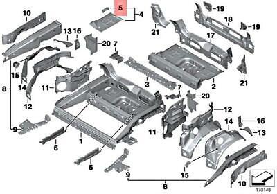 Genuine MINI Cooper One R50 R52 R53 R56 R57 Rear Silencer