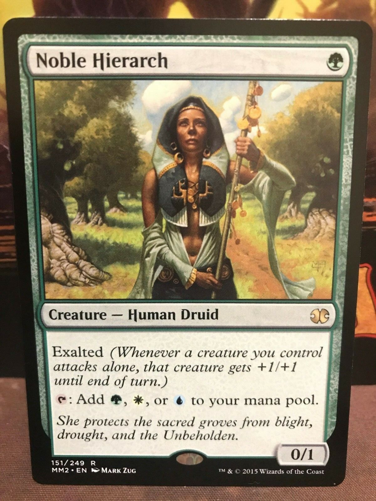 noble hierarch modern masters