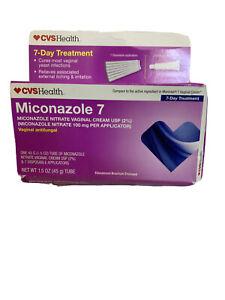 CVS Health Miconazole 7 Day Vaginal Treatment Cream 1.5 oz ...