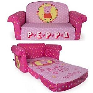 flip open sofa chair everett table world market peppa pig convertible couch lounger bed kid