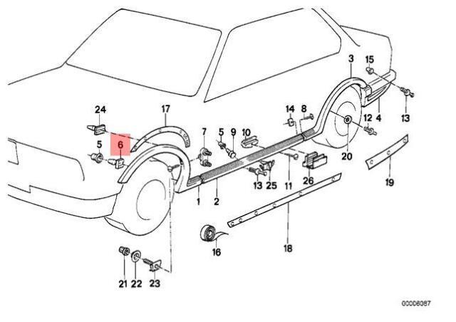 Genuine BMW 5Pcs. Plug Z3 E28 E30 E36 316g 316i 1.6 1.9