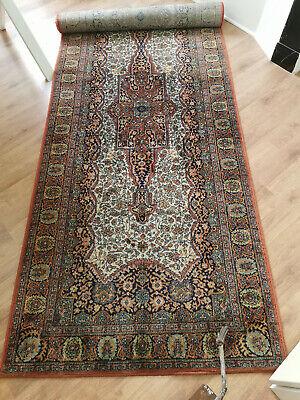 tapis galerie couloir 350 par 100 pure laine ebay