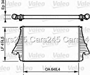 SAAB 9-3 Convertible Wagon 2004- Intercooler VALEO 1.9 TiD
