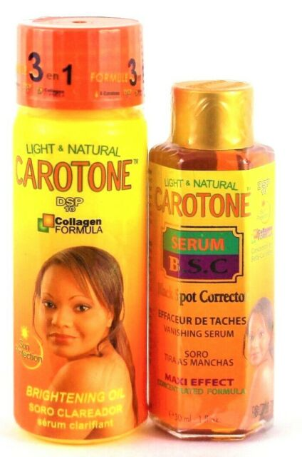 Light & Natural Carotone Brightening Lotion 18.6 Oz for ...