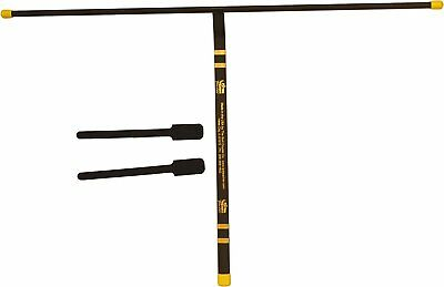 New Burt Coyote Putting stroke Teacher, Black/Yellow