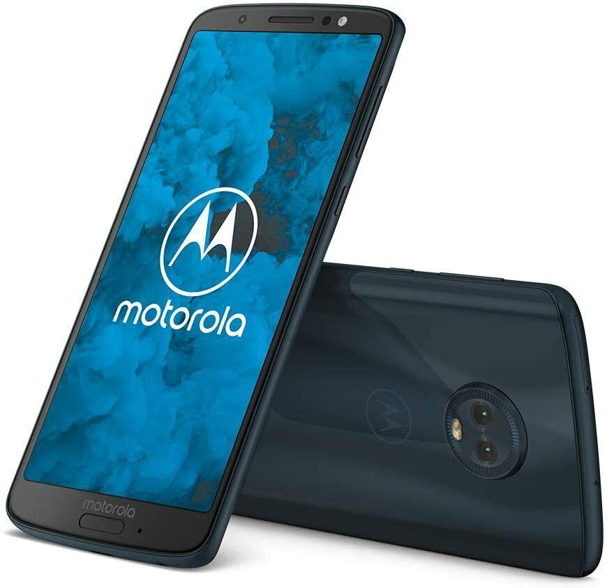 Motorola Moto G6 Android Smartphone 14,5 cm 5,7Zoll 32 GB 3 GB Deep Indigo