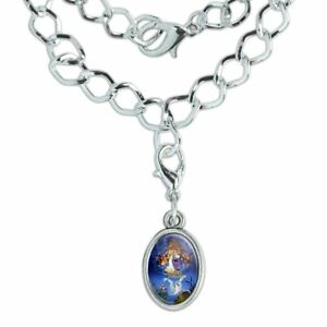 The Swan Princess Movie Poster Art Silver Plated Bracelet