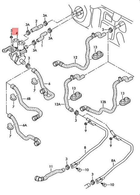 Genuine Valve Unit Lhd AUDI A6 Avant S6 quattro 4F2 4F5