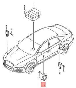 Genuine Pressure Sensor Center AUDI A6 S6 quattro 4F2 4F5