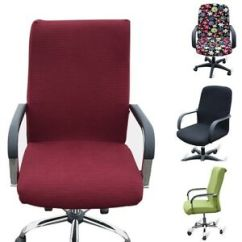 Office Chair Covers Ebay Lift Chairs Rental New Cover Comfy Elastic Room Seat Armchair Swivel Image Is Loading