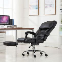 Ergonomic Chair In Pakistan Gray With Ottoman Executive Reclining Office High Back Leather Image Is Loading