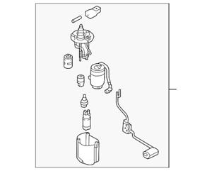 OEM Genuine Kia Fuel Pump Assembly 1.6L 2.0L 14-18 Soul