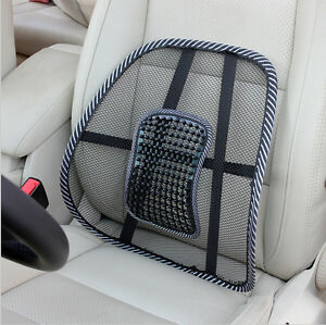lower back support for chair bedroom ebay mesh lumbar cushion seat posture corrector car image is loading