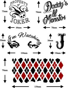Harley Quinn Suicide Squad Tattoos : harley, quinn, suicide, squad, tattoos, Harley, Quinn, Suicide, Squad, Tattoos