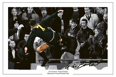 For a generation of united supporters, it has become. Eric Cantona Man Utd Kung Fu Autograph Signed Photo Ebay