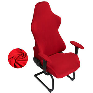 arm chair covers ebay cocoon ikea newest armchair cover game room e sports swivel slipcover image is loading