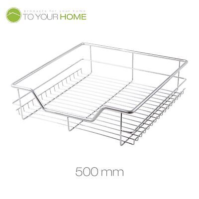 500MM PULL OUT WIRE BASKET KITCHEN LARDER BASE UNIT