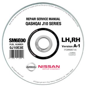 Nissan Qashqai J10 (2006-2010) manuale officina workshop