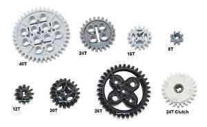 LEGO Technic Mindstorms 8 pc gear axle pack SET lot (motor