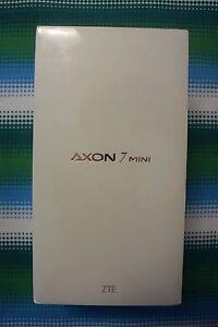 "*NEW* ZTE Axon 7 Mini 5.2"" 1080p AMOLED 4G LTE GSM Unlocked 3GB/32GB ION GOLD"