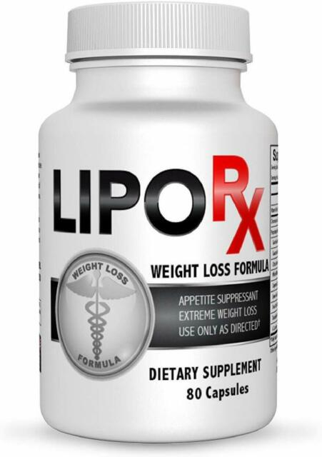 Nutriment Lipo RX Diet Pills for Extreme Weight Reduction ...