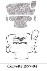 1997 2004 Chevrolet Corvette Under Hood Cover with G-116