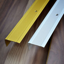 Alumininium Silver Stair Nosings Step Edging For Laminate Wood Flooring 25x20mm For Sale Online Ebay