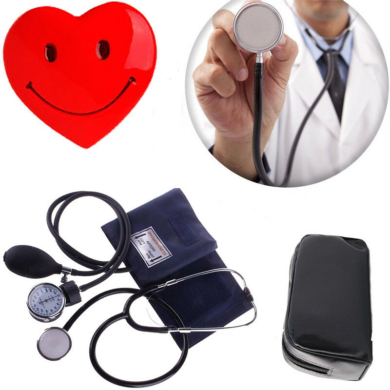 Nylon Manschette Blutdruckmessgerät Manuelles Stethoskop Blutdruckmessgerät BP