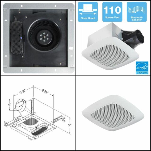delta breezsignature 110 cfm ceiling bathroom exhaust fan