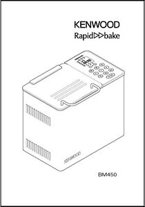Kenwood Rapid Bake BM150 Bread Machine Operator