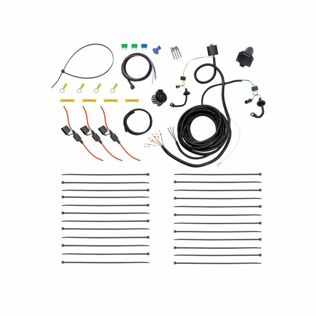 7-Way Trailer Wiring Harness Kit For 15-20 Ford Transit