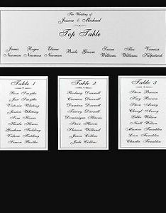Image is loading wedding table plan cards seating also diy rh ebay