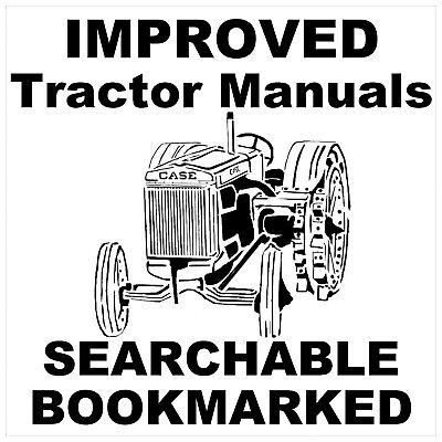 JI Case Tractor C D L LA R S V VA RC SC VC DC VAC Repair