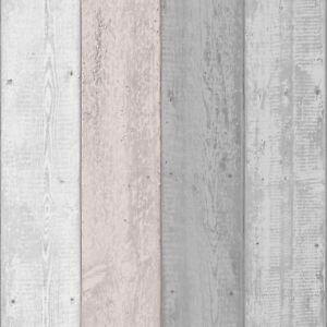 details sur rustique effet bois peint papier peint gris rose poudre arthouse 902809 afficher le titre d origine