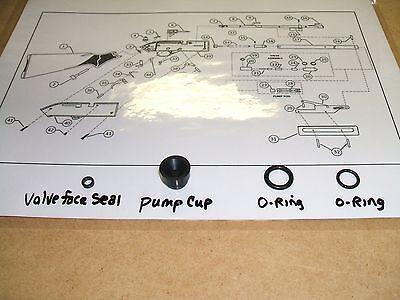 O Rings Seal Kit Crosman Pumpmaster 760